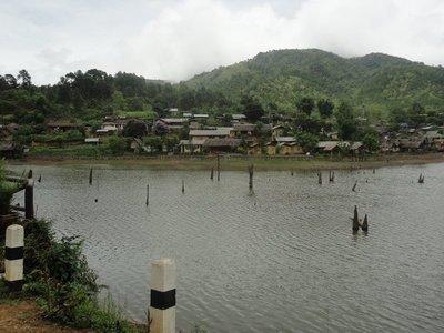 Ban Rak Thai. Last town before Burma