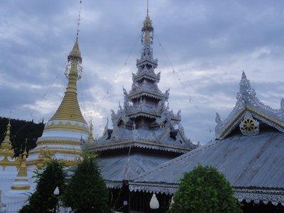 Temple near the lake