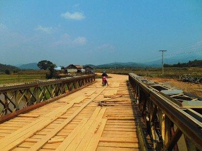 Biking around Phonsavan