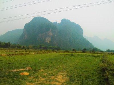 View around Vang Vieng