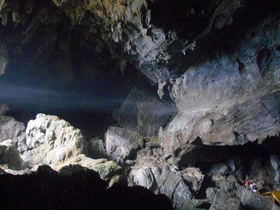 Cave near the blue lagoon, Vang Vieng