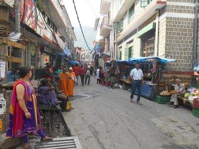 Streets of Dharamashala
