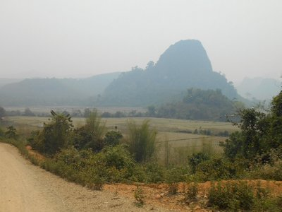 Walking around Muang Ngoi Neua to nearby villages