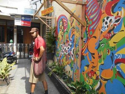 Colourful streets of Yogyakarta