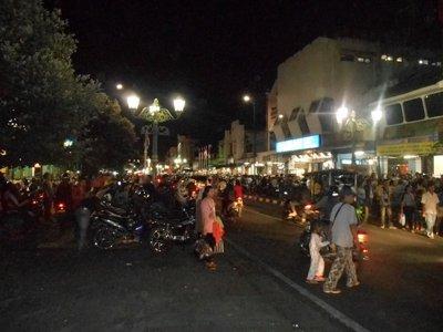 Yogyakarta at night