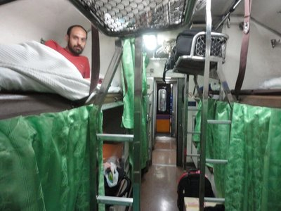 Night train - Bangkok to Nong-Khai