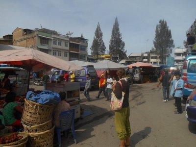 Market in Berastagi
