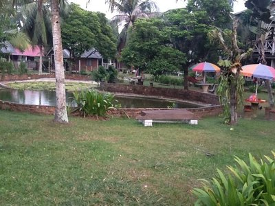 The Garden of our hostel