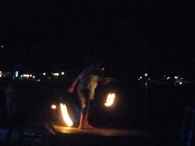 Fire show in Lamai