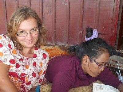 Teaching Sokha English