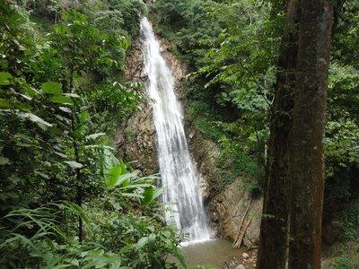 Kun korn waterfalls 70 metres
