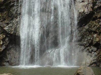 Kun korn waterfalls