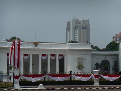 Indonesian white house