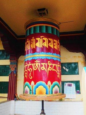 Near Dhalai lama temple