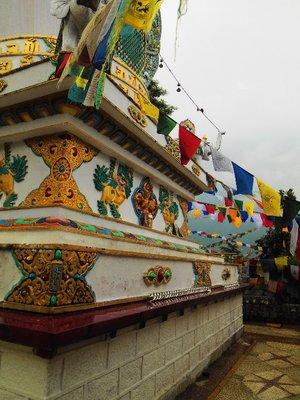 Around Dhalai Lama temple