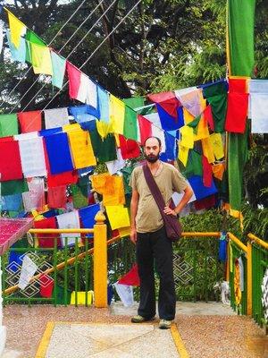 Near the Dhalai Lama temple