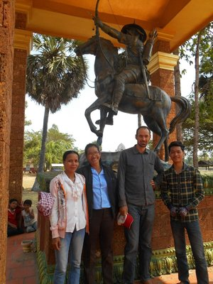 Sokha, our host and family during our trip to the Vietnamese border