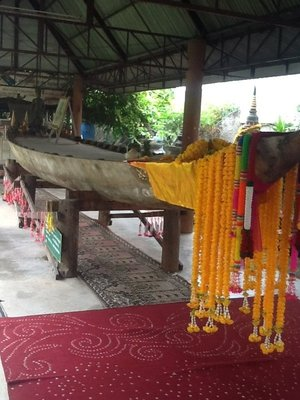 Boat belonging to king Chulalongkorn