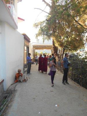Walking around Dharamshala