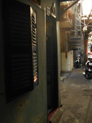Saigon alley where our guesthouse was hidden