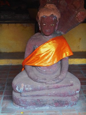One of the thousand Buddhas at Wat Si Saket