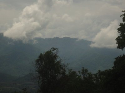 Pai is a valley surrounded by mountains