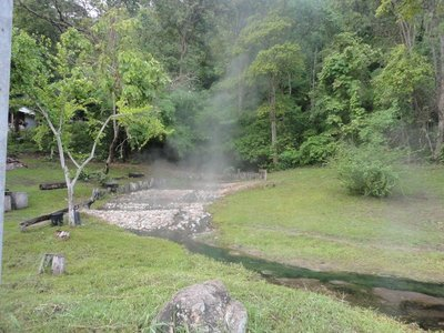 Hot springs around Pai