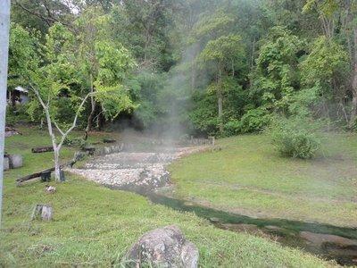 Hot springs around Pai