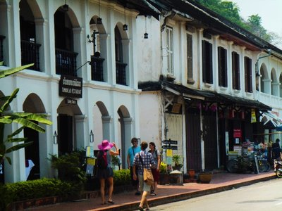 Plenty of nice buildings in Luanprabang