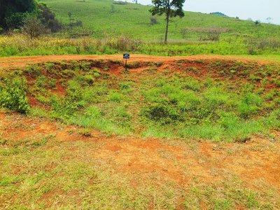 Bomb crater, plain of Jars