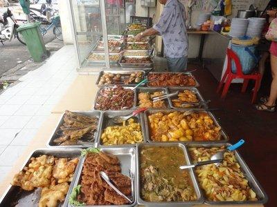 Chinese breakfast buffet