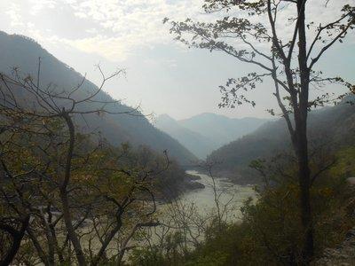 Walking around Rishikesh