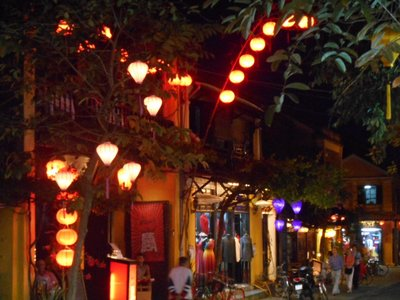 Atmospheric street. Hoi An