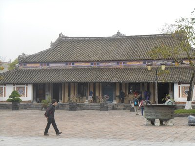 Imperial palace, forbbiden city. Hue