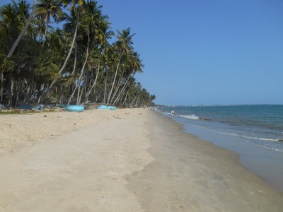 Mui Ne beach, looking better in the picture than in reality