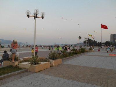 Promenade in Nah Trang