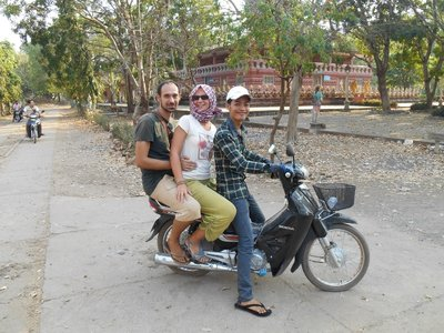 Cambodian style ride