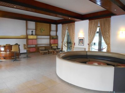 Game room from the presidential palace, stuck in the 70