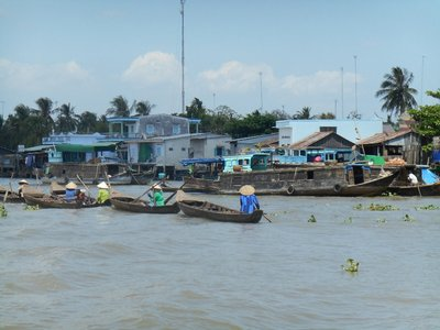 Sailing in the Mekong