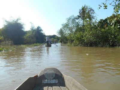Through the canals in the Mekong Delta