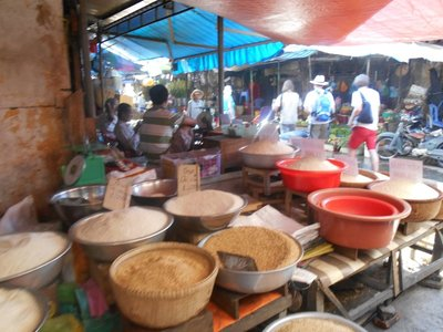 Rice Market in the Mekong Delta