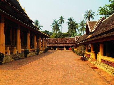 Courtyard Wat Si Saket