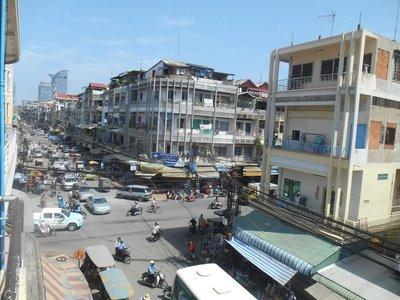 Busy Phnom Penh