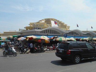 Market Building Phnom Penh