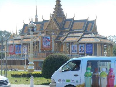 Kings palace Phomn Penh