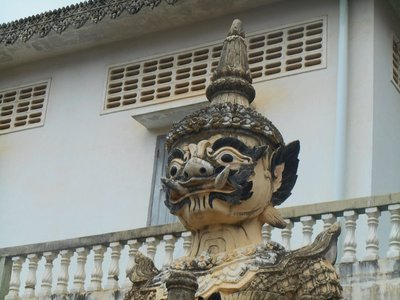 Khmer statue