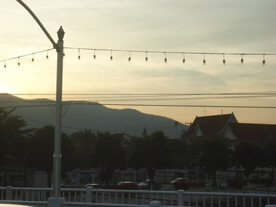 sunset in Chiang Mai