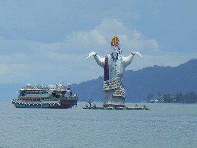 Big Batak statue