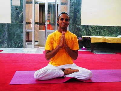 Vimal, our first and great yoga teacher