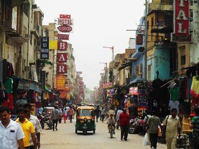 Bustling Streets of Pahar Ganj